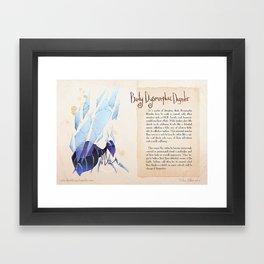 Real Monsters- Body Dysmorphic Framed Art Print