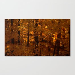 Fall's Wildfire Canvas Print