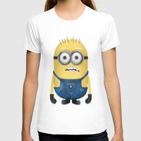 minion T-shirts featuring Minion  by Lyre Aloise