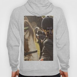 Horse and rider at Agriculture show Australia. Hoody