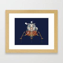 Apollo Lunar Module Framed Art Print