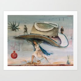 Allegory of Machismo, Displaced Art Print