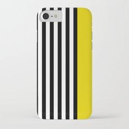 Liquorice allsorts, yellow iPhone Case