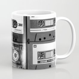 Something Nostalgic - black and white #decor #buyart #society6 Coffee Mug