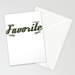 Cute & lovely Admirer Tee Design Daydream Stationery Cards