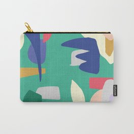 Abstract Color Carry-All Pouch