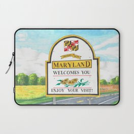 Welcome to Maryland Laptop Sleeve