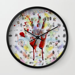 DNA signature is the fingerprint that can be used to identify us Wall Clock