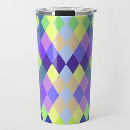 PASTEL GEOMETRY DIAMOND Travel Mug
