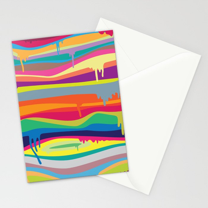 The Melting Stationery Cards