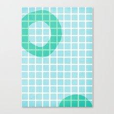 Pool Shadows 1 Canvas Print