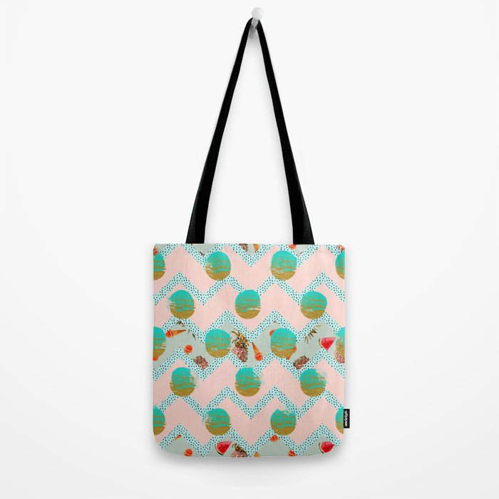 Forms of tropical patterns Tote Bag