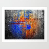 Hard Color Art Print