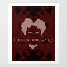Crazy Pills Art Print