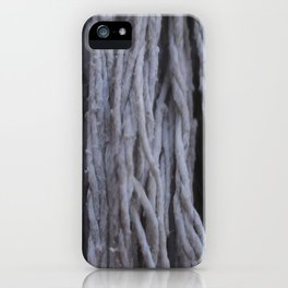 """Cascada de Algodón"" iPhone Case"