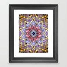 Mandala Faaa Raaa Oooon  Framed Art Print