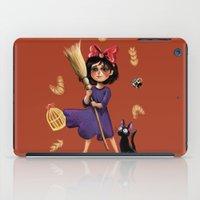 kiki iPad Cases featuring Kiki and Jiji by Kristin Frenzel