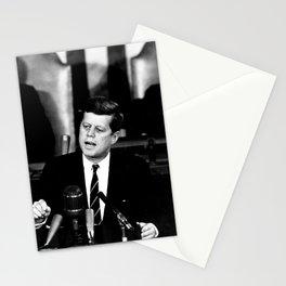 John F Kennedy JFK Speech Stationery Cards