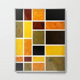 Mondrian No. 99 Metal Print