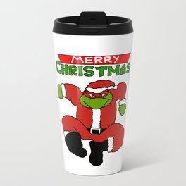 turtles christmas Travel Mug