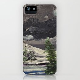 Where the sapphire blue is iPhone Case