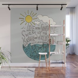 Emerson: Live in the Sunshine Wall Mural