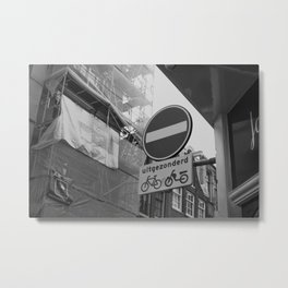Reestraat, Amsterdam Metal Print