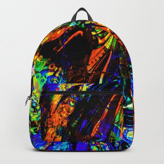 abstract waves ii Backpack