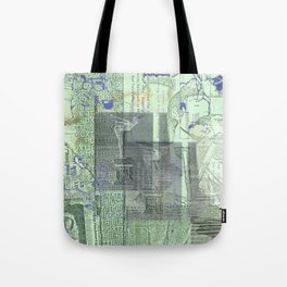 DXTTR-III (or I Remember Too Much) Tote Bag