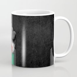 Palestinian Flag on a Raised Clenched Fist Coffee Mug