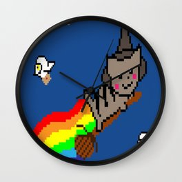 Nyan McGonagall Wall Clock
