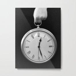 Holding Time Metal Print