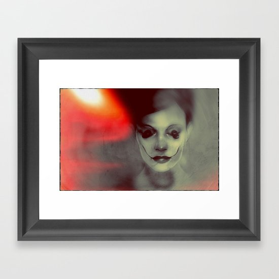 stoptryingtomakemesmile Framed Art Print