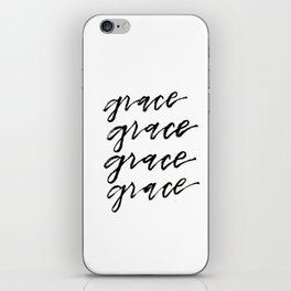 GRACE iPhone Skin