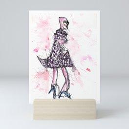 Fashion design image Mini Art Print