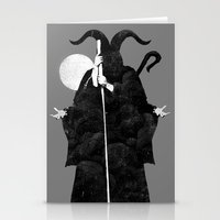 death Stationery Cards featuring Death by Gurven