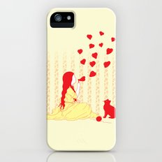 Bubbly Hearts iPhone (5, 5s) Slim Case