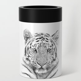 Black and white tiger Can Cooler