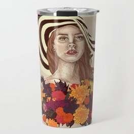A flower between flowers // Del Rey with a bouquet Travel Mug