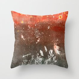 Floating away Throw Pillow