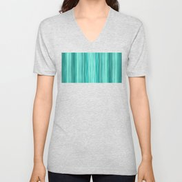 Ambient 5 in Teal Unisex V-Neck