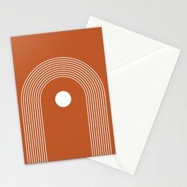 Abstract Boho Rainbow Art Stationery Cards
