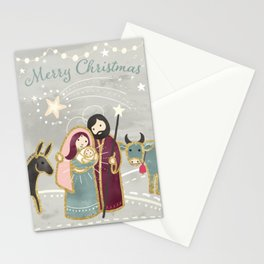 Nativity - the Birth of Jesus Stationery Cards