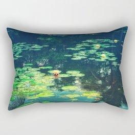 Lily Pond II Rectangular Pillow