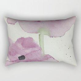 purple flowers Rectangular Pillow