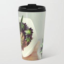 Succulent Geos Travel Mug