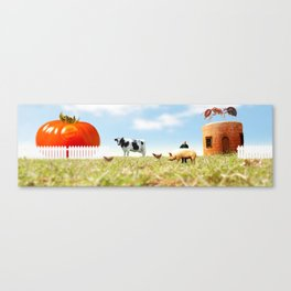 Honey I Shrunk the Farm. Canvas Print