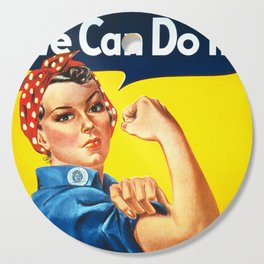 We can do it! Cutting Board