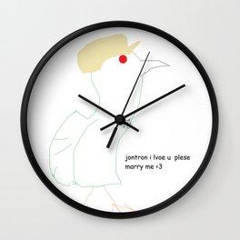 Ode to Jon-Tron Wall Clock