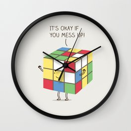 it's okay if you mess up! Wall Clock